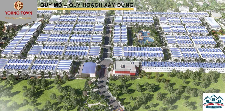 Đất nền Đức Hòa KDC Young Town Tây Bắc Sài Gòn