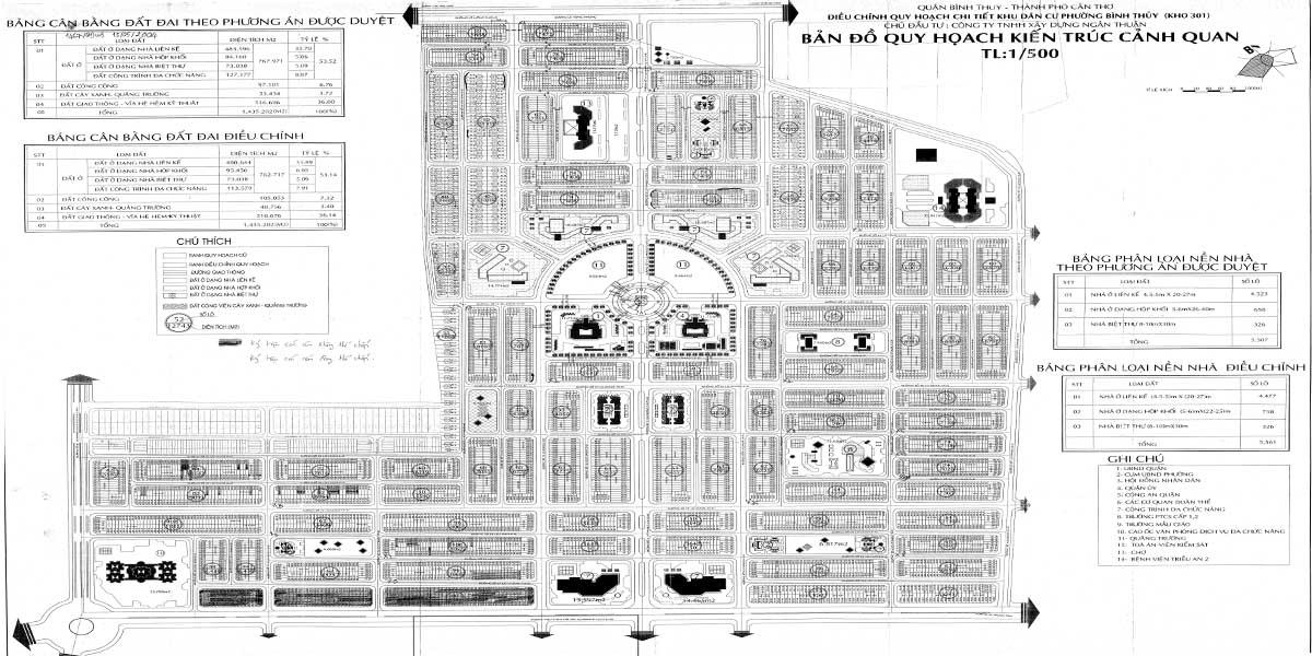 Bản đồ quy hoạch 1/500 của Stella Mega City
