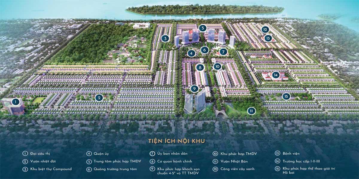 Tiện ích nội khu dự án Stella Mega City