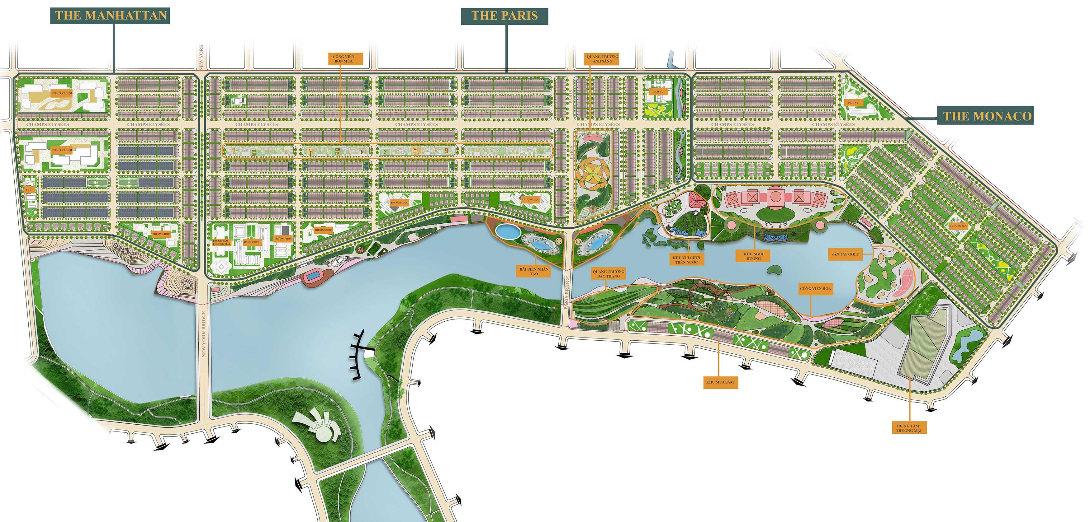 Dự án Royal Star Lake- Khu du lịch sinh thái hồ Suối Cam, Bình Phước