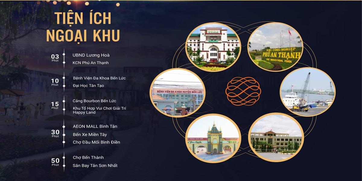 tiện ích ngoại khu dự án Việt Úc Varea