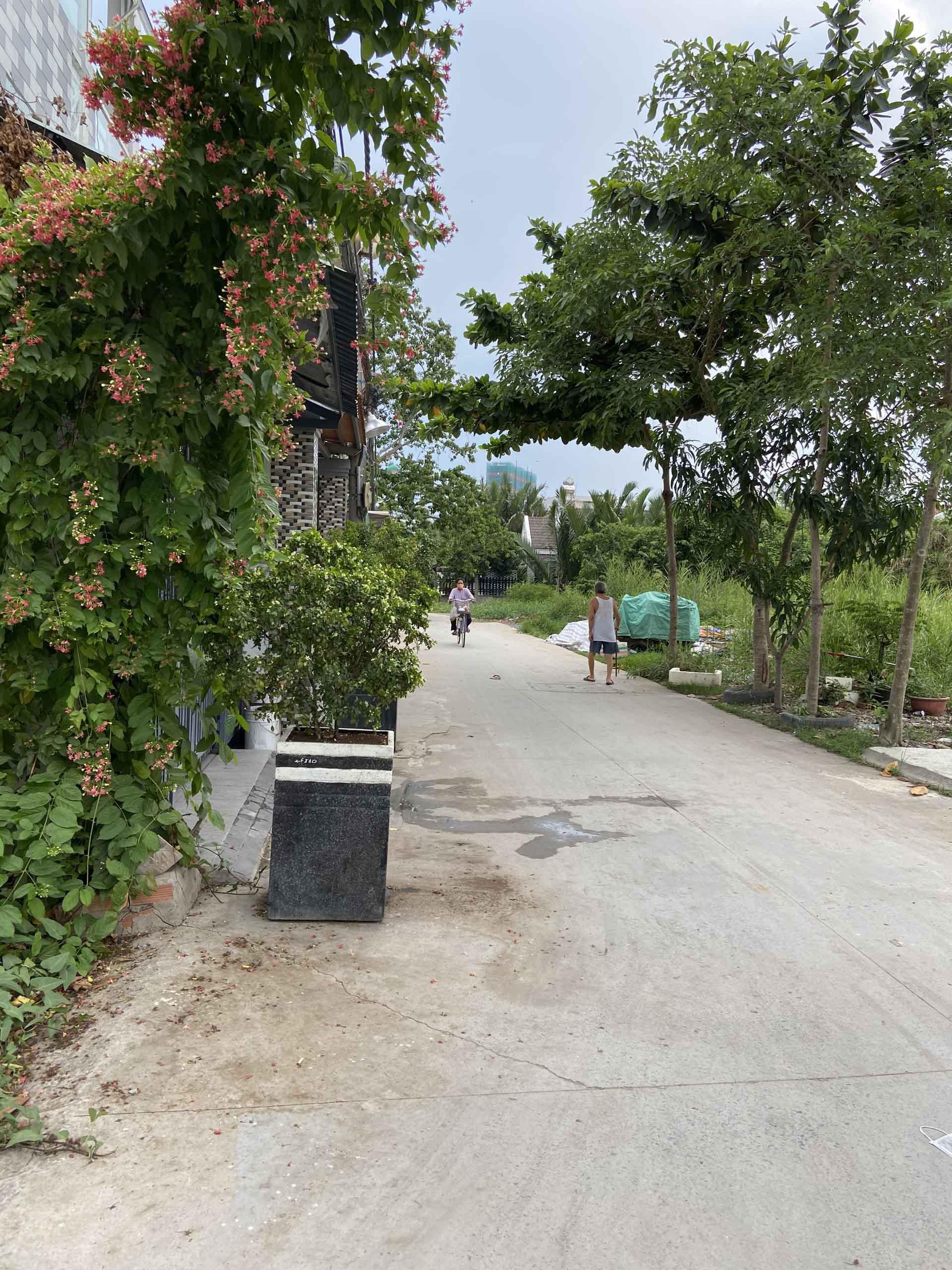 Đường di chuyển từ Huỳnh Tấn Phát vào