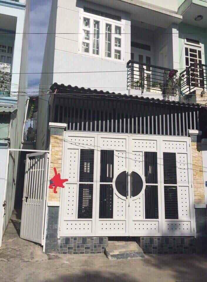 Bán nhà hẻm 1549 Huỳnh Tấn Phát, P. Phú Mỹ, quận 7
