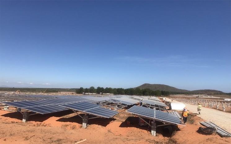 Mô hình điện năng lượng mặt trời