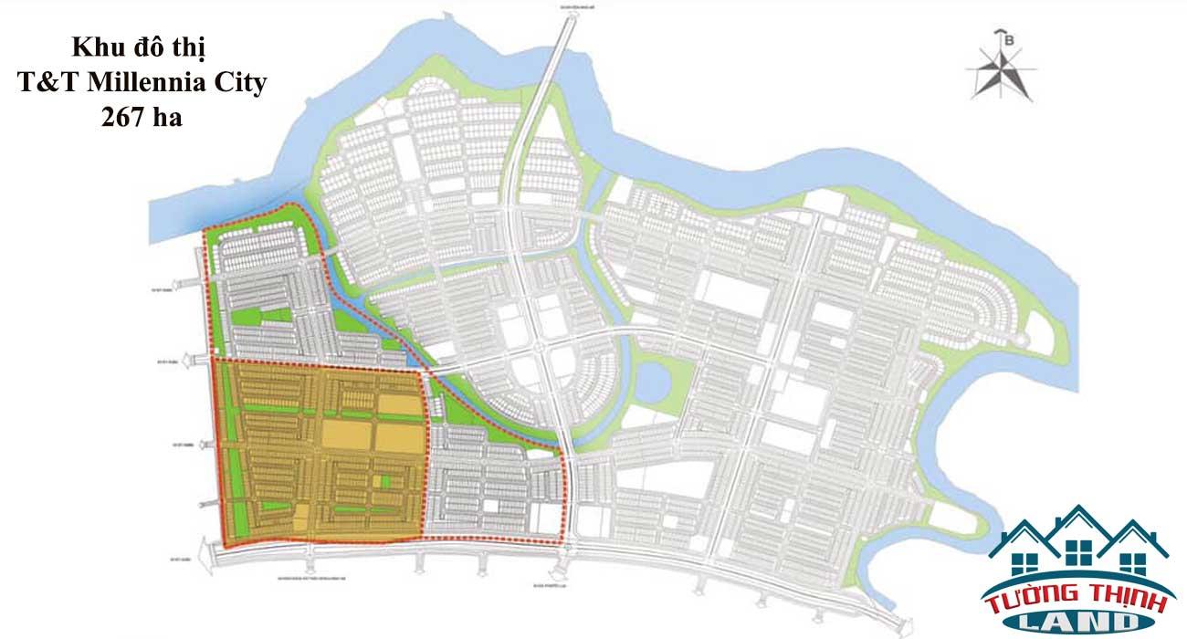 Thông tin dự án T&T Millennia City, đất nền T&T Long Hậu giai đoạn 2