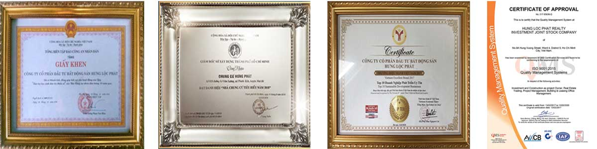Một-số-giải-thưởng-côgn-ty-Hưng-Lộc-Phát-nhận-được