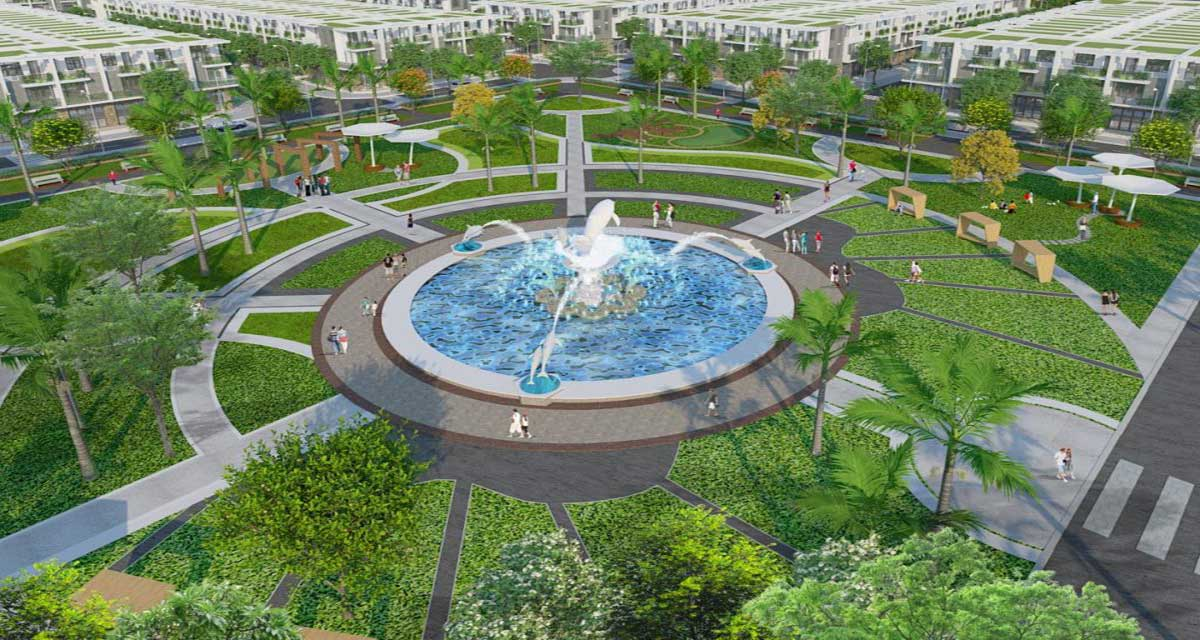 Quảng-trường-trung-tâm-dự-án-Habour-View