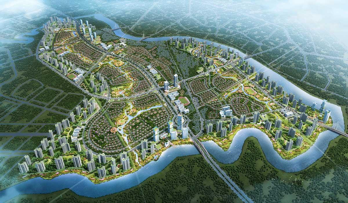 Khu đô thị Phước Lại, Cần Giuộc, Long An – Quy hoạch phân khu tỷ lệ 1/2000