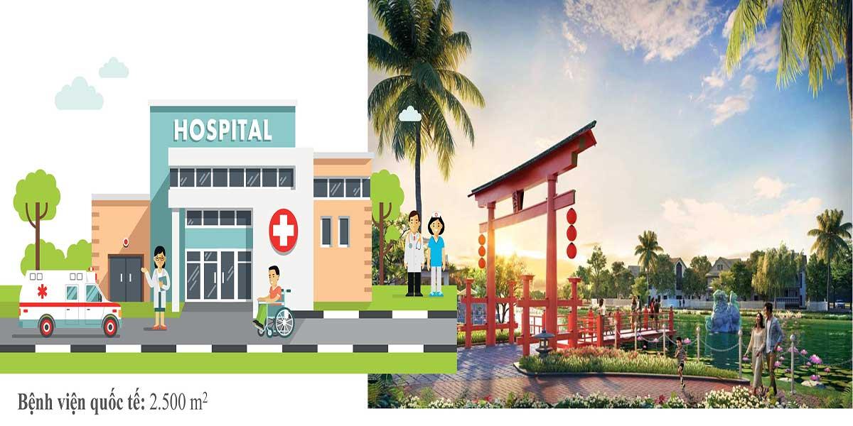 Bệnh viện quốc tế trong dự án The Sun City