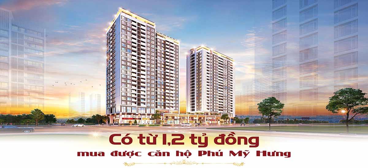 Chỉ từ 1,2 tỷ có thể sở hữu căn hộ The Antonia Phú Mỹ Hưng