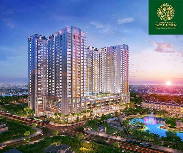 Chung cư Green Star Sky Garden quận 7