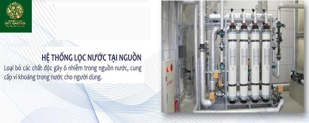 Hệ thống lọc nước tại nguồn