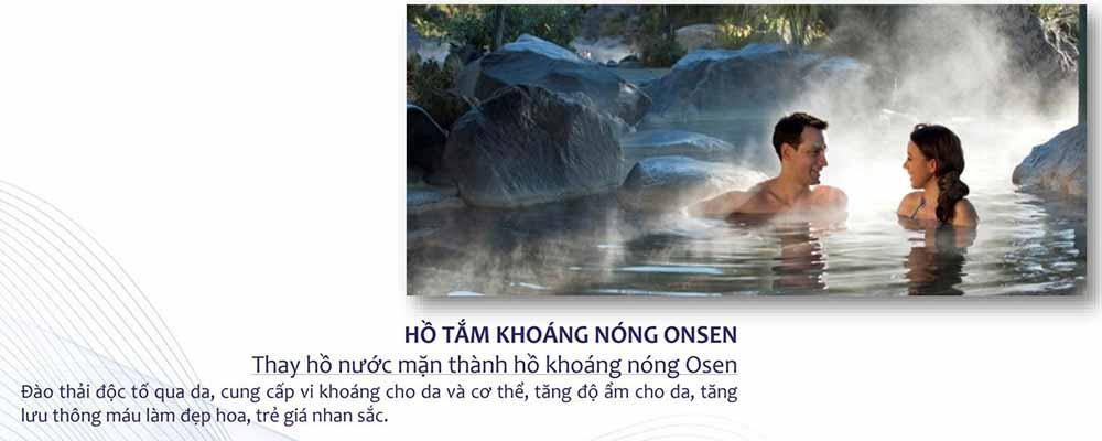 Hồ tắm khoáng nóng Osen