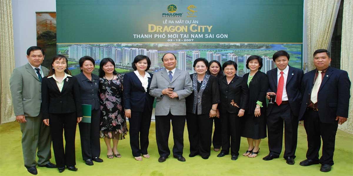 Thủ tướng tham dự lễ ra mắt Khu đô thị Dragon City Phú Long