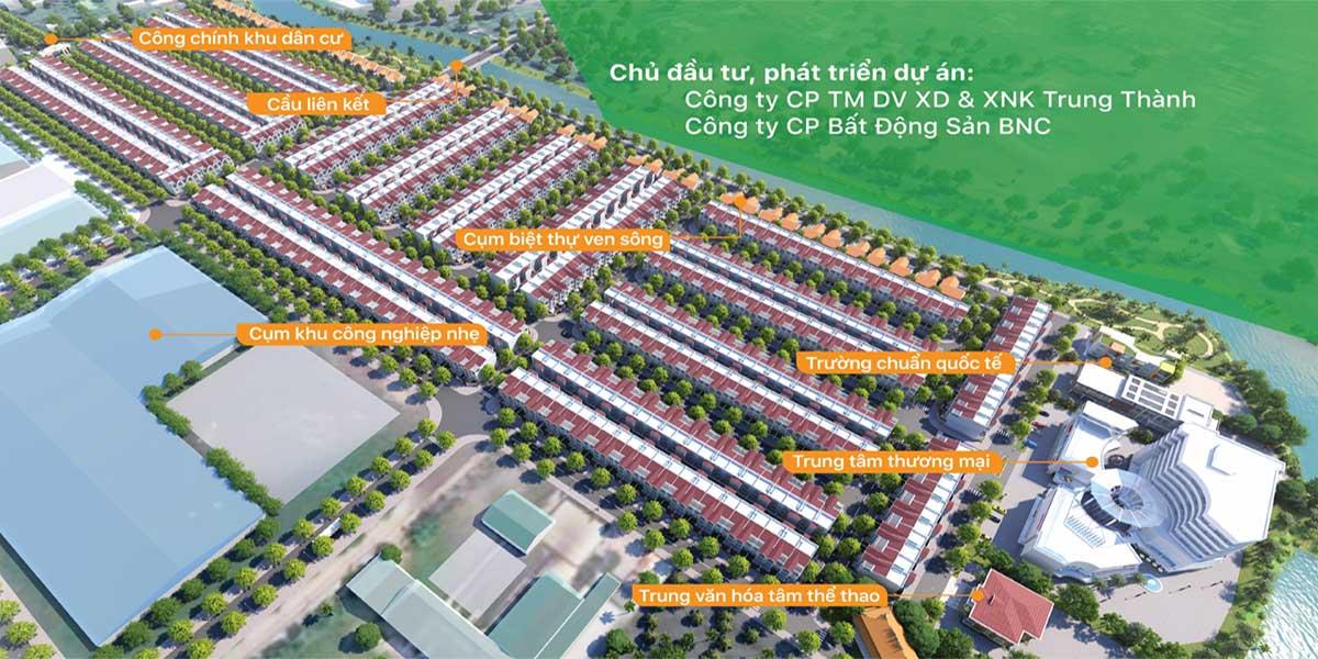 Tổng thể dự án Khu dân cư Cầu Tràm