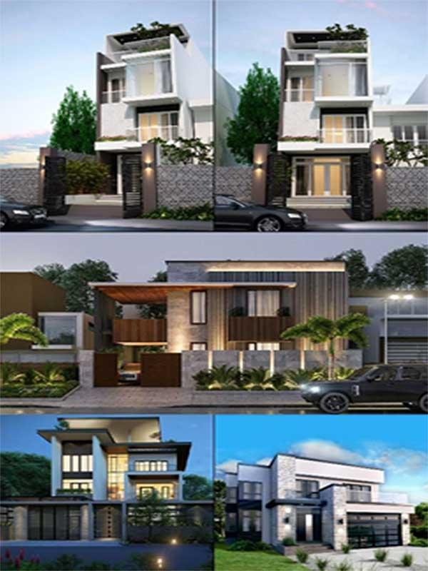 Mẫu thiết kế nhà KDC An Phước Sài Gòn Cần Giuộc tham khảo