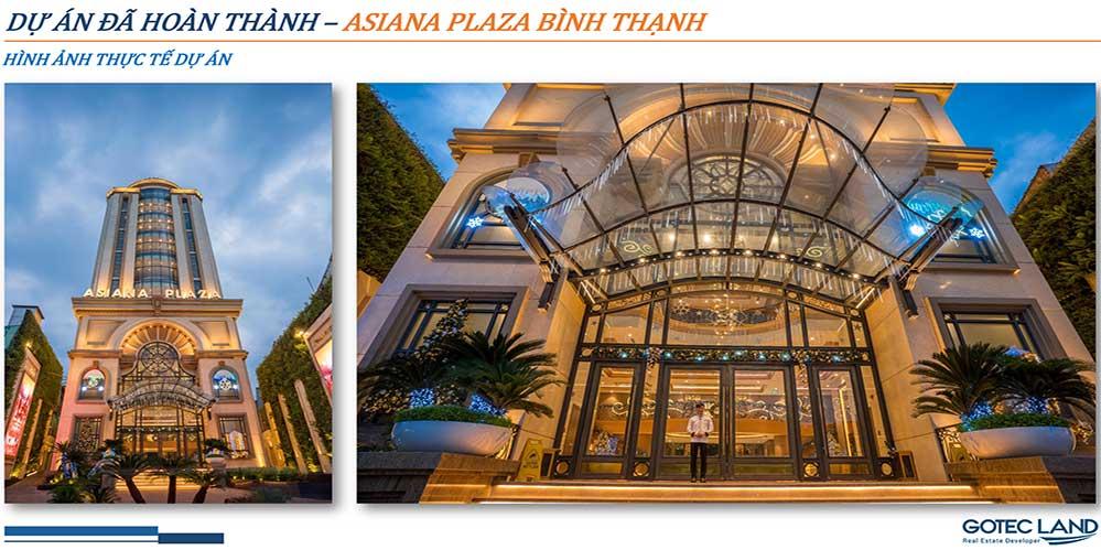 Dự án đã hoàn thành Asiana Plaza Bình Thạnh